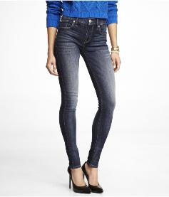CLASSIC SUPER SKINNY JEANS Chrome