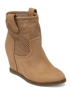KENO WEDGE BOOTIES Gold